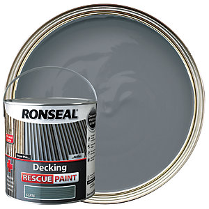 Ronseal Decking Rescue Paint 2.5L Slate