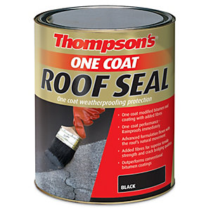 Thompsons One Coat Roof Seal Black 5L