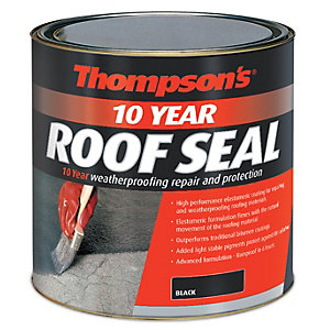 Thompsons 10 Year Roof Seal 2.5ltr Blk