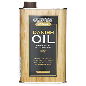 Colron Refined Danish Oil Clear 500ml