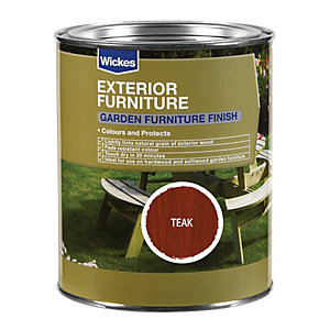 Wickes Garden Furniture Finish 750ml Teak