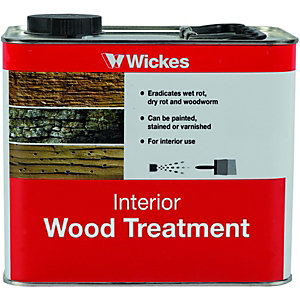 Wickes Interior Wood Treatment 2.5L