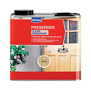 Wickes Wood Preserver 2.5L Clear