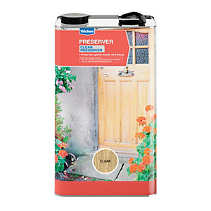 Wickes Wood Preserver 5L Clear