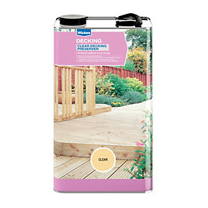 Wickes Decking Preserver 5L Clear