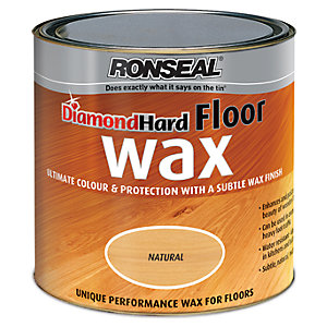 Wickes Floor Wax 2.5L Natural