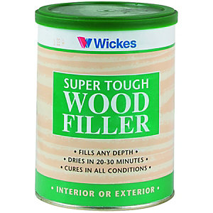 Multi purpose fillers fillers putty caulk for Exterior wood filler paintable