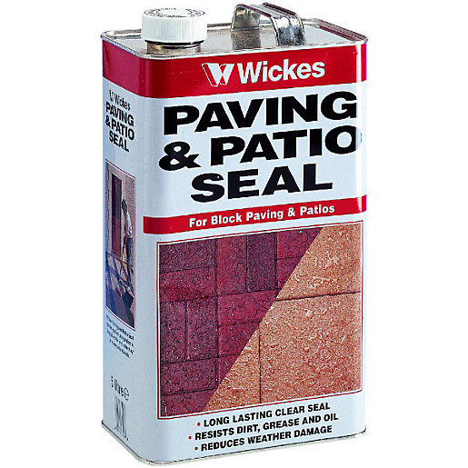 Wickes Paving & Patio Seal 5L Clear | Wickes.co.uk