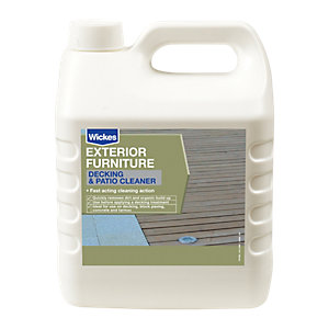 Wickes Patio & Decking Cleaner 5L Clear