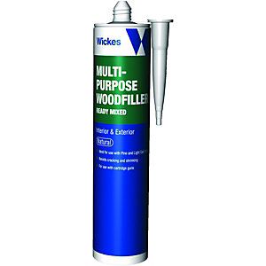 Wickes Multi-Purpose Wood Filler Natural 310ml