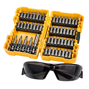 DeWalt Screw Bit Set & Safety Glasses