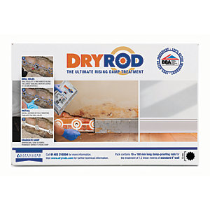 Dryrod Damp Proof Course Rods 180mm Pack 10