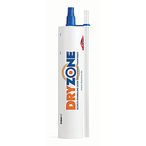 Dryzone Damp Proof Course Cream 310ml