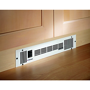 Wickes Central Heating Plinth Heater Stainless Steel