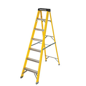 Youngman 7 Tread Heavy Duty Grip Step Ladder