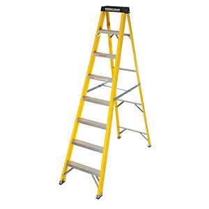 Youngman 8 Tread Heavy Duty GRP Step Ladder