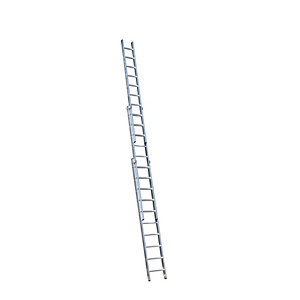 YOUNGMAN TRADE 2 SECTION EXTENSION LADDER 5.5M
