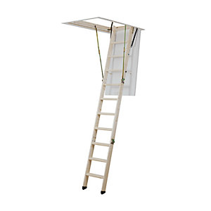 Youngmans Click Fix Timber Loft Ladder