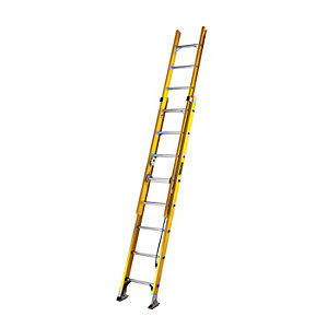 YOUNGMAN S200 EXTENSION LADDER GRP 3.9M