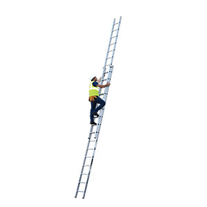 YOUNGMAN 2 SECTION PROFESSIONAL EXTENSION LADDER 8.77M