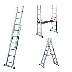 Youngman Professional 5 Way Combi Ladder & Deck