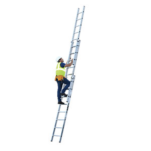 YOUNGMAN 3 SECTION PROFESSIONAL EXTENSION LADDER 6.05M
