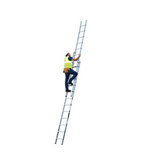 YOUNGMAN 2 SECTION PROFESSIONAL EXTENSION LADDER 6.59M