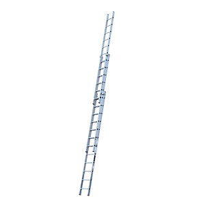 YOUNGMAN 3 SECTION PROFESSIONAL EXTENSION LADDER 9.32M