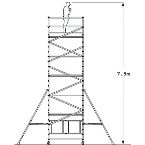 Youngman Access Tower System Option 4