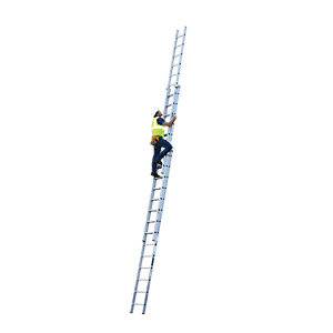 YOUNGMAN 3 SECTION PROFESSIONAL EXTENSION LADDER 10.68M