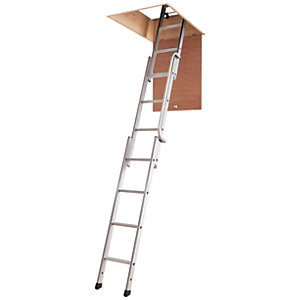 Youngman Deluxe 3 Section Aluminium Loft Ladder