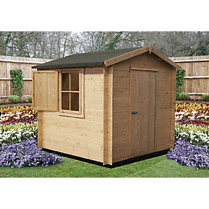 Shire Camelot Log Cabin 8x8ft