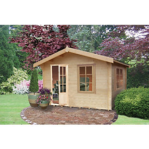 Shire Bucknells Log Cabin 10x8ft