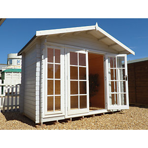 Shire Epping Log Cabin 10x10ft
