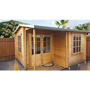 Shire Ringwood Log Cabin 12x18ft