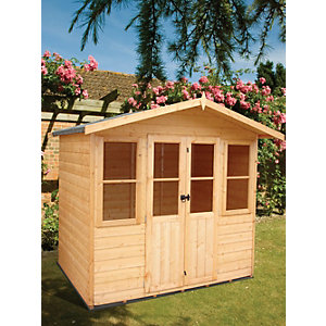 Wickes Haddon Summerhouse 7x5ft