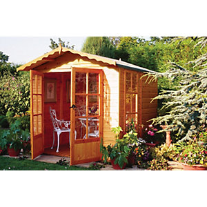 Wickes Buckingham Summerhouse 7x7ft