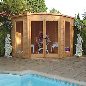 Wickes Barclay Corner Summerhouse 7x7ft