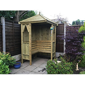 Wickes Honeysuckle Corner Arbour
