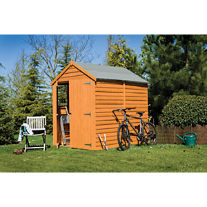 Wickes Double Door Overlap Shed 7x5
