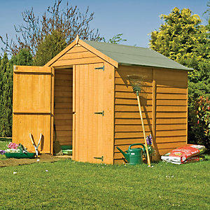 Wickes Double Door Overlap Shed 6x6