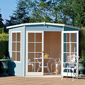 Shire Hampton Corner Summerhouse 8x8