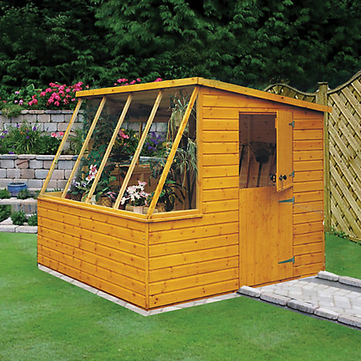wickes potting shed stable door 8x6. Black Bedroom Furniture Sets. Home Design Ideas
