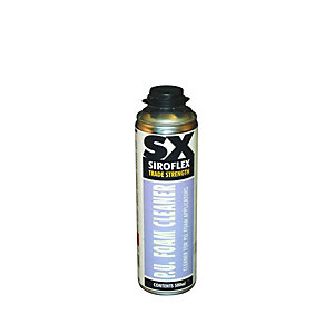 SXFFC500 SX PU Foam Cleaner 500ml