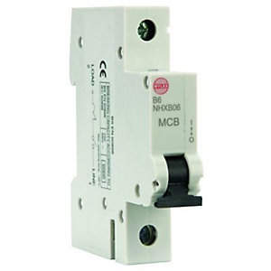 Wylex Type B Miniature Circuit Breaker 6 Amp