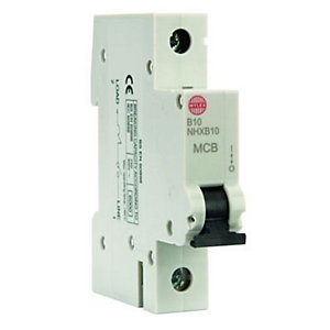 Wylex Type B Miniature Circuit Breaker 10 Amp