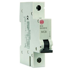 Wylex Type B Miniature Circuit Breaker 16 Amp