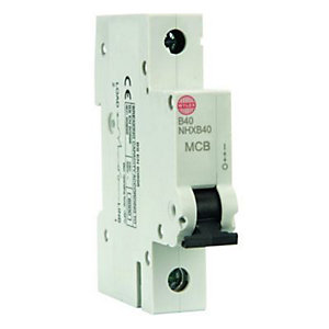 Wylex Type B Miniature Circuit Breaker 40 Amp