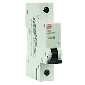 Wylex Type B Miniature Circuit Breaker 50 Amp