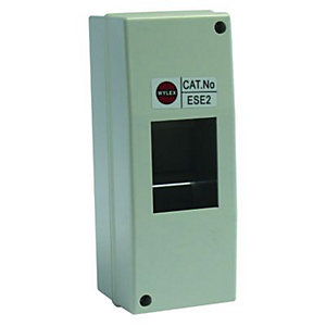 Wylex 2 Module IP40 Insulated Enclosure Unit
